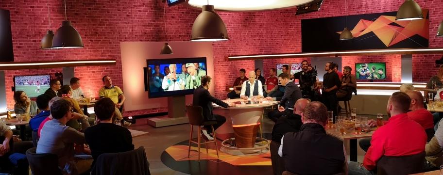 PULS4 Europa League Studio