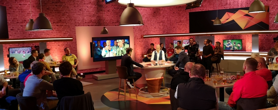 PULS4 Europa League Studio