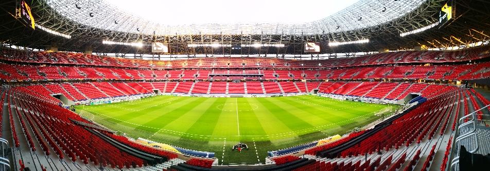 EuroLeague WAC - Tottenham, Puskas Arena Budapest