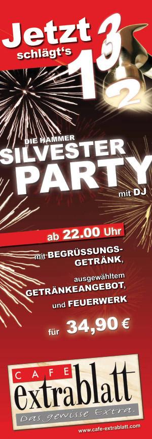 Silvesterparty mit DJ Bürki