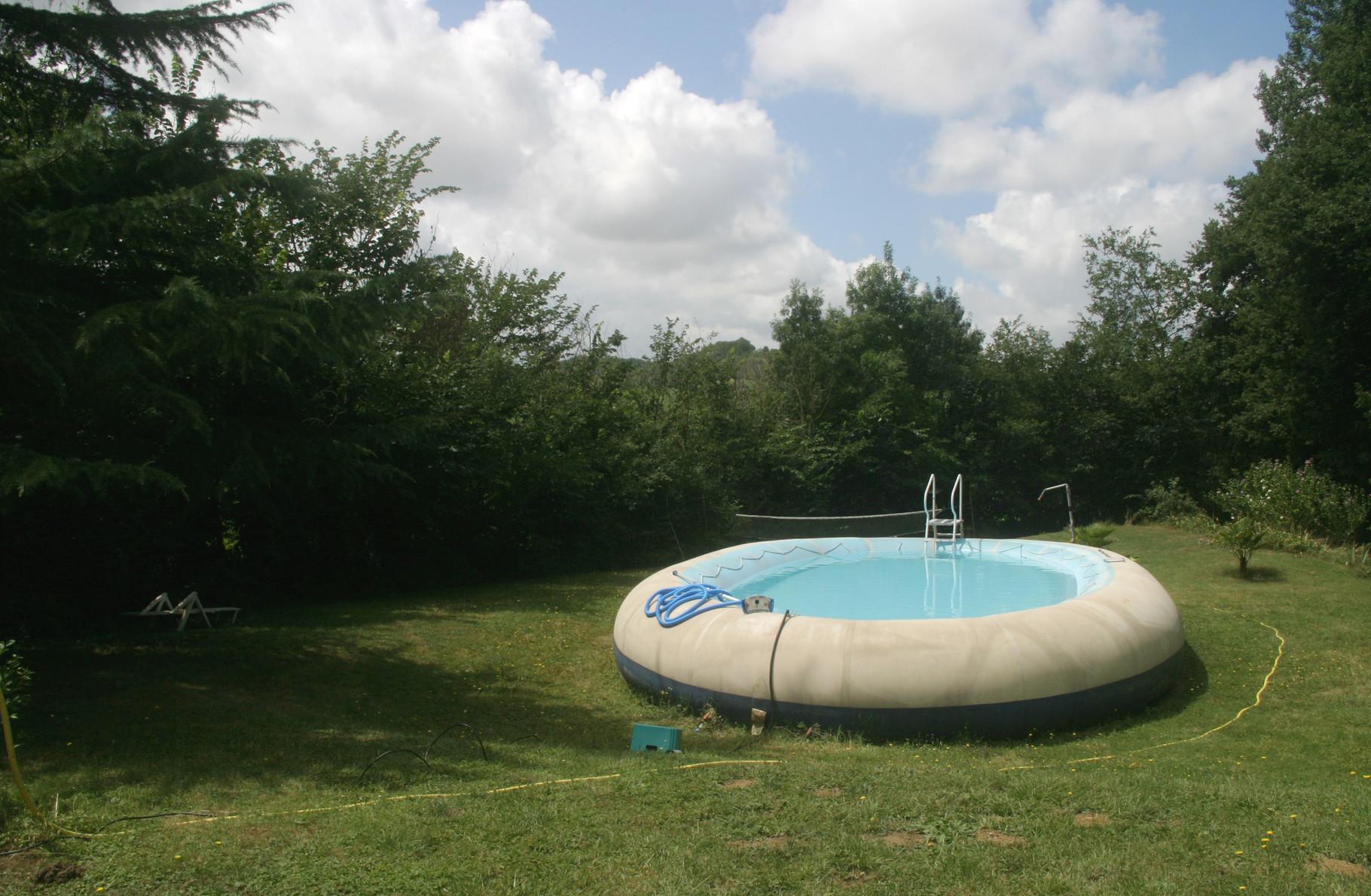 ... une vraie piscine...