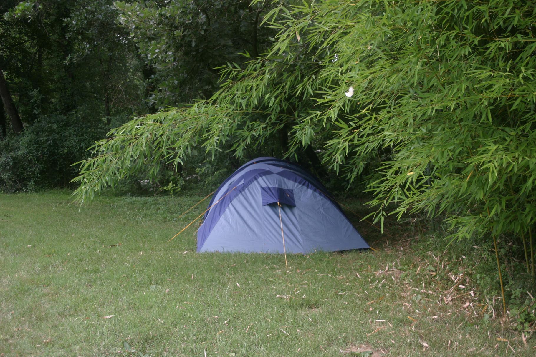 ... la tente... (l'été !)