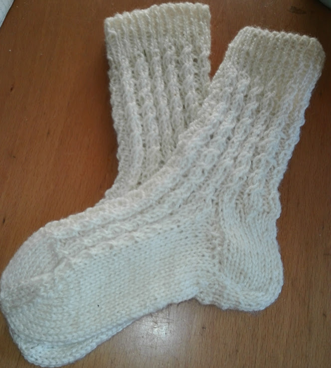 Socken fürss Trachtengwand
