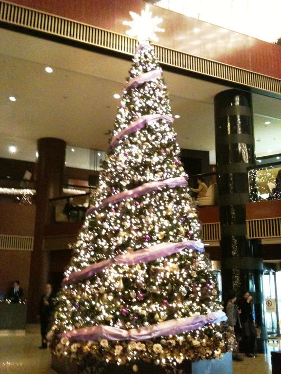 ANAインターコンチネンタルのクリスマスツリー