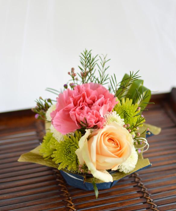 Japanese themed mini arrangement