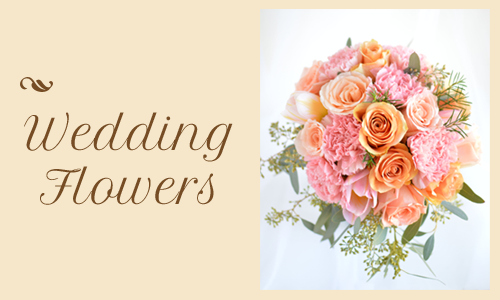 Custom Wedding Flower design service
