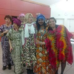 Un groupe de femmes africaines!