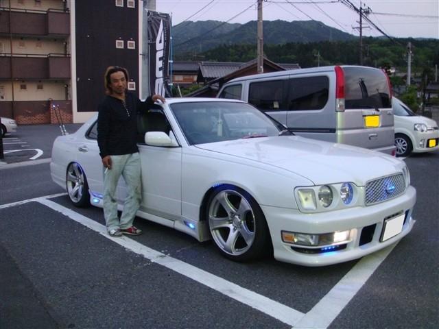 Y33セドリック 車高調取り付け - オーナー:K様