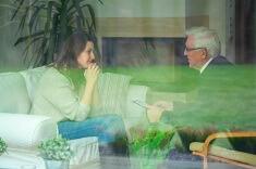 visuel: entretien psychologique
