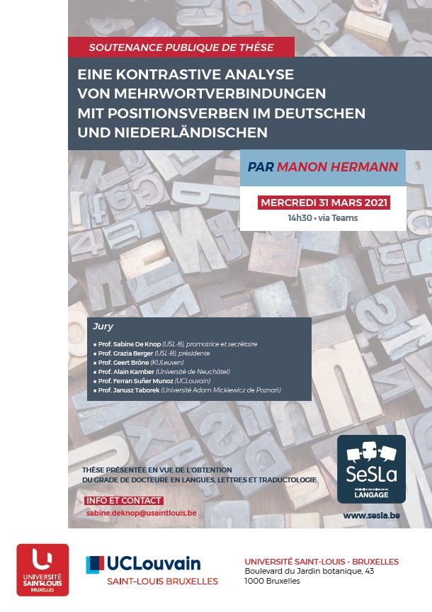 Eine kontrastive Analyse von Mehrwortverbindungen mit Positionsverben im Deutschen und Niederländischen