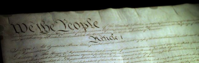 Constitution of the United States of America in the National Archives - by  Mr.TinDC