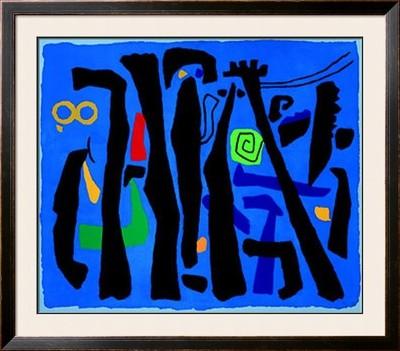 Willi-Baumeister-bewegte-vertikalen-auf-blau-c-1953