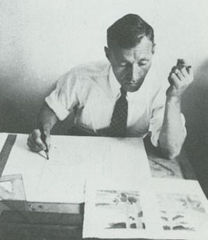 Первые технологические инструкции по трафаретной печати для художников подготовил Энтони Велонис, 1938г.