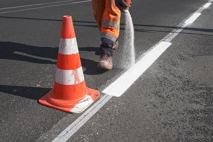 Straßenmarkierung