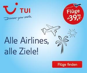 Rail & Fly - TUI fly