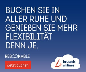 Rail & Fly Brussels Airlines - Belgien