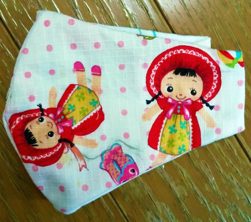 子供用マスク(文化人形バージョン)