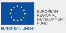 EU-Flagge mit Untertitel