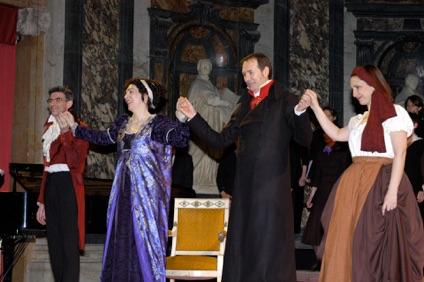 Avec Brigitte Desnoues, Ronald Zins et Martine Gautier