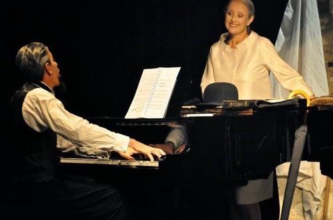 Monsieur Satie. Avec Anne Constantin