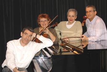 Le trio Boulanger et Françoise Galais