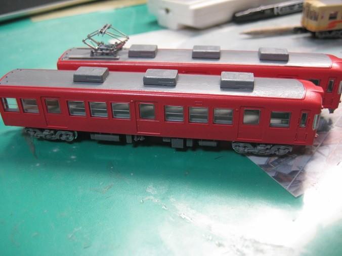 伊予鉄700系新塗装 Nゲージ