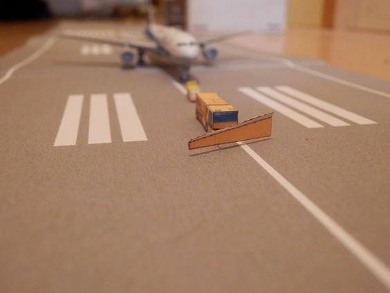 空港 滑走路 制作