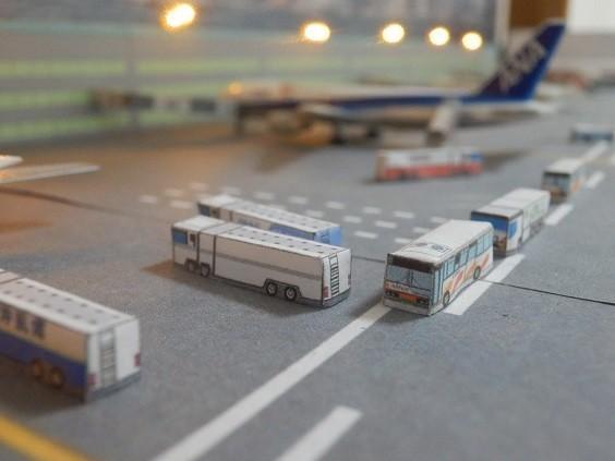 カンタン空港ジオラマ