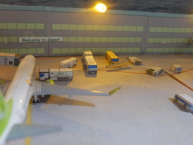 空港ジオラマ 1/500