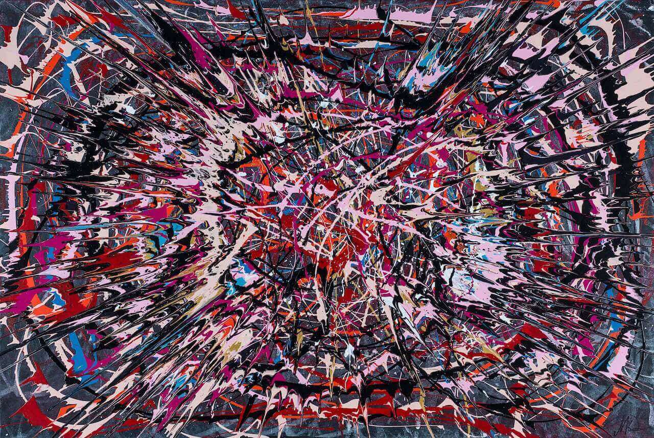 Happy Birthday Pollock (2015) - Marius Kavolis - 6000 €