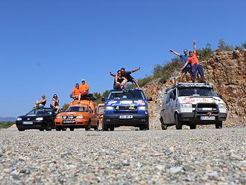 ELKO PUTZE, Eichstätt, Bayern - PRESSEMITTEILUNG - Balkan Express Rallye 2019