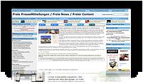 Grafik: Webscreen Presseportal FREIE PRESSEMITTEILUNGEN - Pressemitteilung von ELKO GmbH, Eichstätt, Bayern | Innenputz & Außenputz, Wärmeschutz