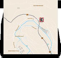 Grafik: Anfahrtskizze - Ihr Weg zu ELKO GmbH, Eichstätt, Oberbayern | Innen- & Außenputz Wärmeschutz von Rohbau bis Sanierung