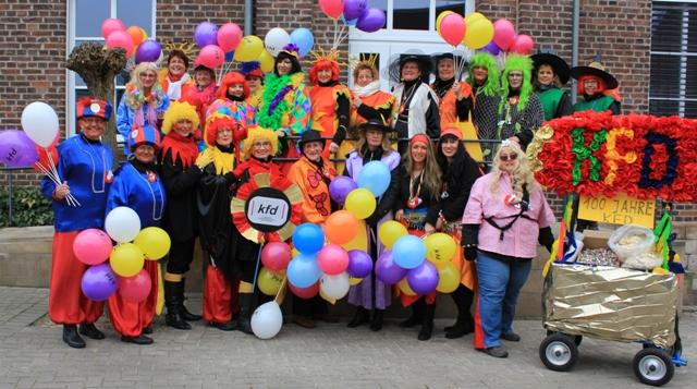 kfd-Karnevalsumzug 2013
