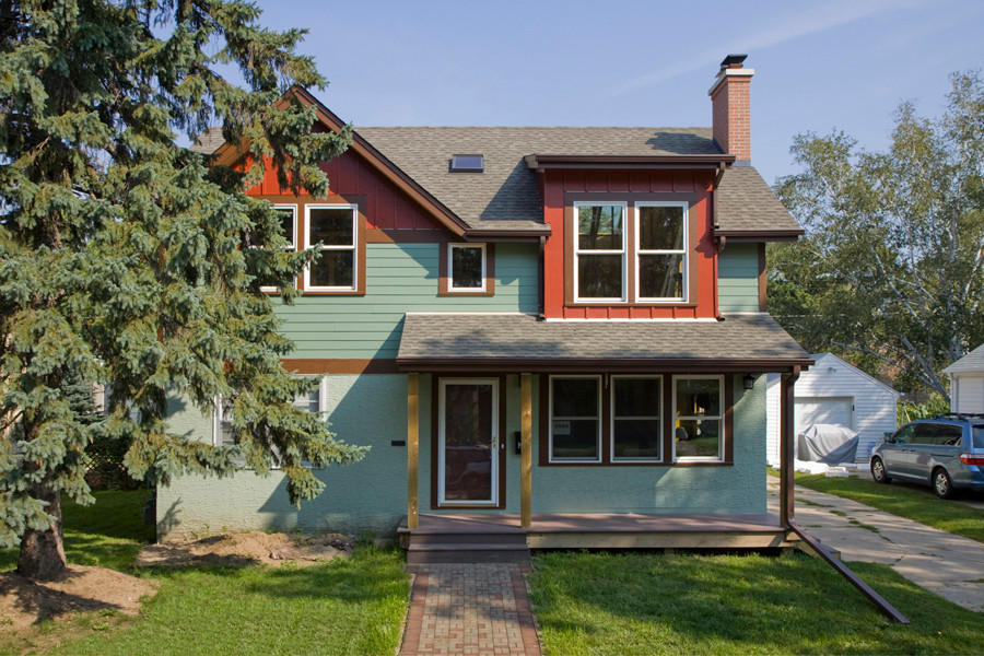 Asper House: Green Remodeling and Addition - New Kitchen, Second Floor and Porch