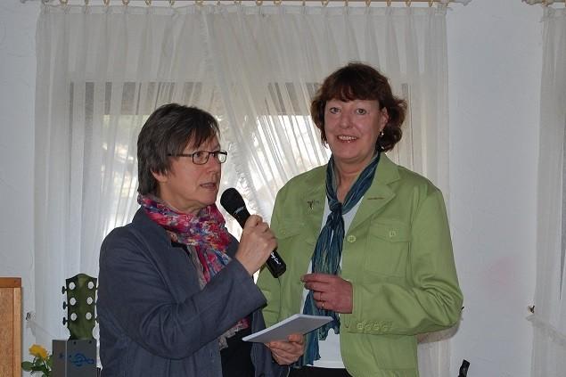 Renate Boljen und Gisela Malasch