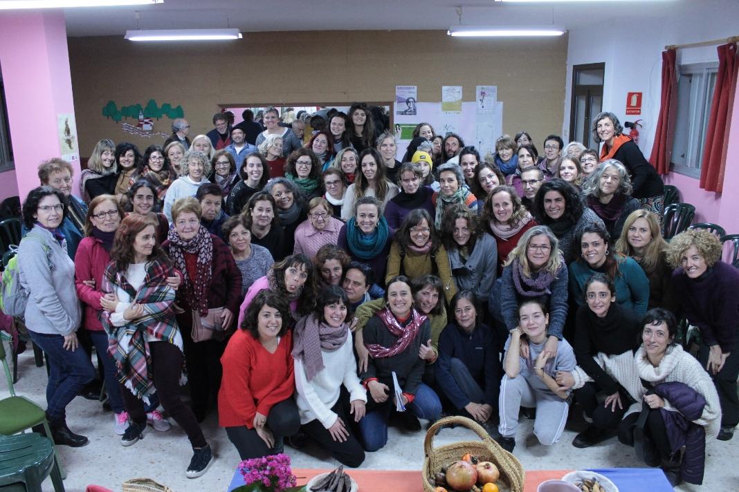 FOTO DE GRUPO.  X FORO FEMINISTA RURAL