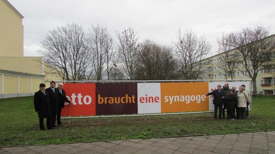 2,8 Mio. Zuschuss für Neubau einer Synagoge in Magdeburg