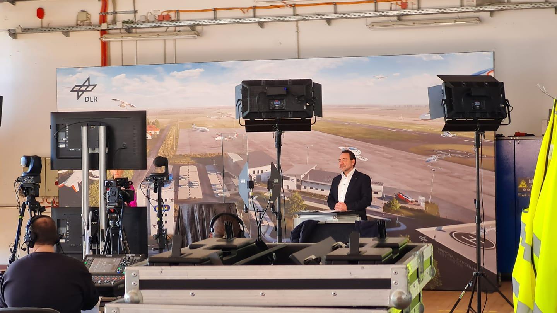 Nationales Erprobungszentrums für Unbemannte Luftfahrtsysteme am DLR-Standort Cochstedt eröffnet