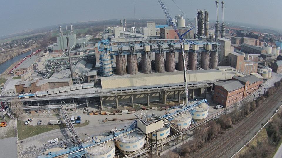 Solvay startet neue Produktionsanlage für hochreines H2O2