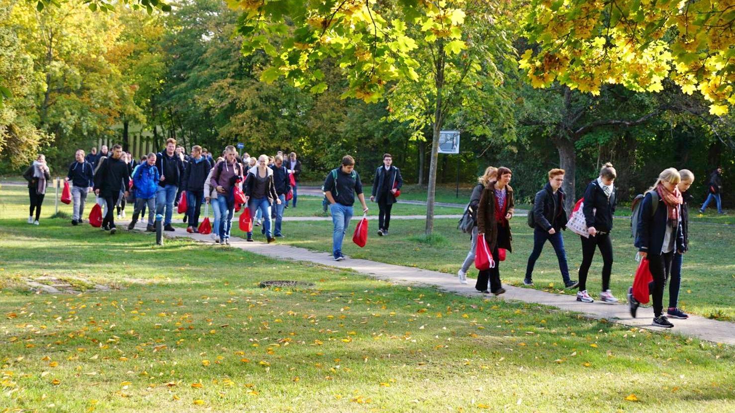 Zuwachs bei den Studienanfängerinnen und Studienanfängern an der Hochschule Anhalt
