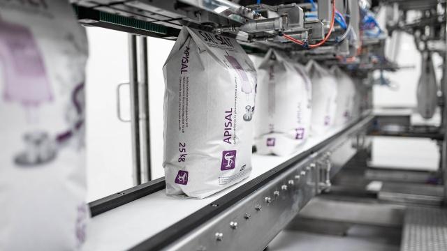 Pharmasalz aus heimischer Produktion für den Corona-Impfstoff