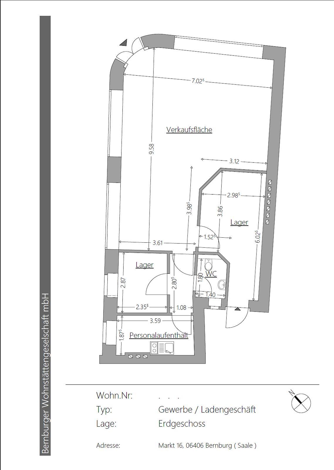 Wohnung Bernburg