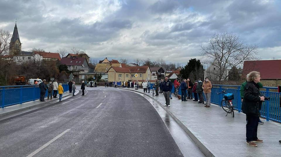 Bodebrücke Neugattersleben freigegeben