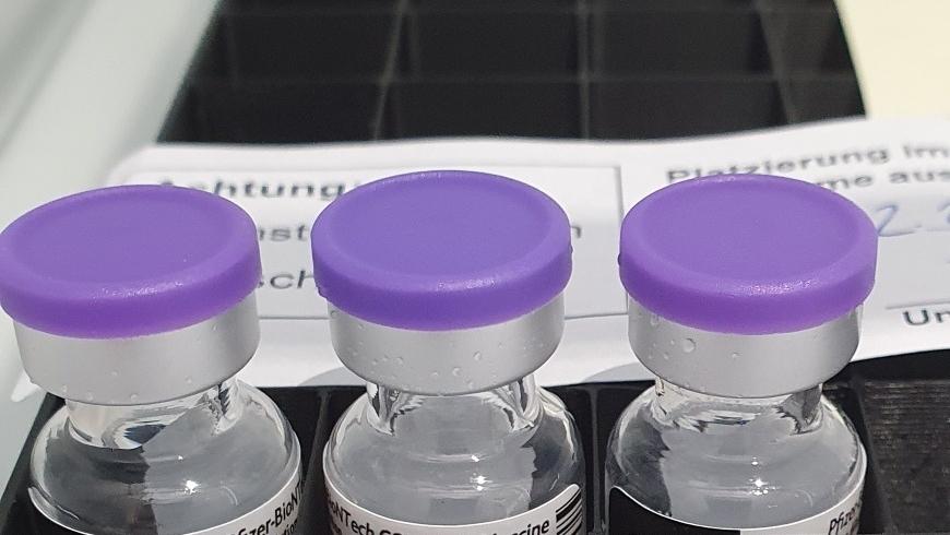 Ab Anfang Mai weniger Impfstoff verfügbar