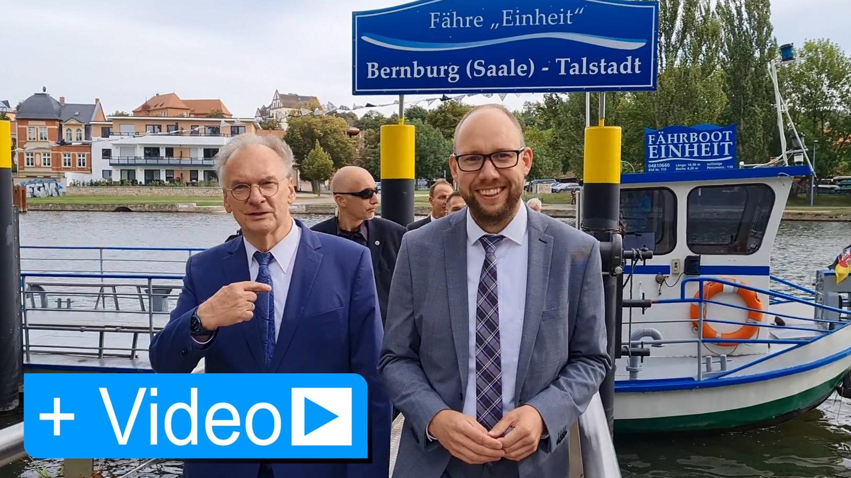 Ministerpräsident Dr. Reiner Haseloff zu Besuch in Bernburg