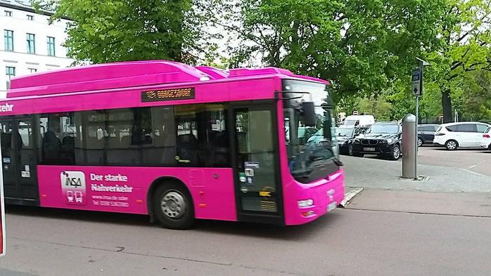 Fahrplanänderungen in Bernburg