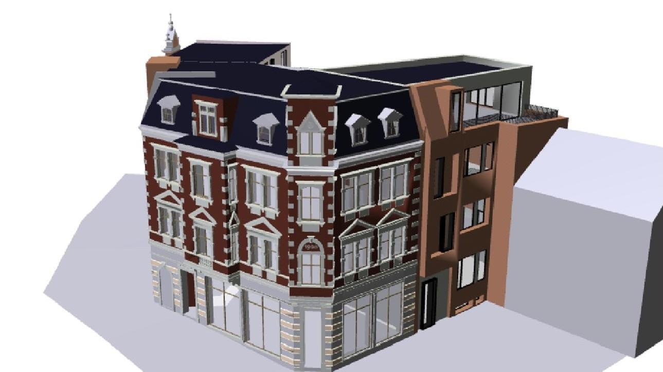 Saalplatz 11 und 12 Entwurf/ Planung
