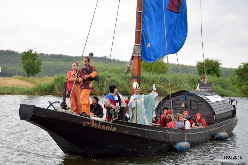Thietmars Flussreise zum letzten Mal in Alsleben