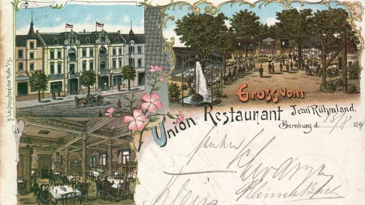 Die Geschichte des Restaurant Buchenhof in Bernburg